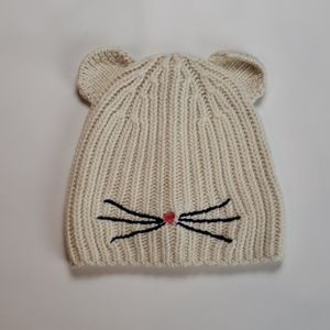 Crewcuts Ears and Whiskers Beanie Hat